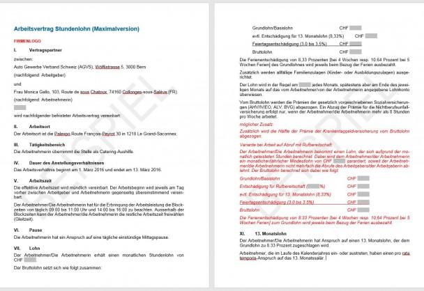 Atemberaubend Vertragsvorlage Mähen Ideen - Dokumentationsvorlage ...