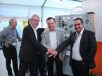 Auf weitere drei Jahre (v.l.): Peter Krieg, Initiant und Organisator des «Brain-Village», Auto-Zürich-Präsident Karl Bieri und Andreas Billeter vom AGVS Zürich.