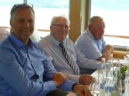 Dominique Kolly, Pierre Jenni (ehemaliger Sektionspräsident VD) sowie Laurent Liard (ehemaliger Präsident FR).