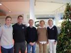 Ein Familienbetrieb wie aus dem Bilderbuch (von links): Rahel, Enzo, Heinz, Elisabeth und Jenny Frey.