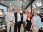 V. l.: Ehrenmitglied Daniel Riedo, ESA-CEO Giorgio Feitknecht, Urs Wernli sowie Madeleine und René Degen.