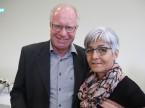 Garagist Martin Zimmermann mit Frau Esther: Sein Betrieb ist seit 49 Jahren ESA-Mitinhaber.