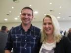 Roger Meier von der Auto Hebler AG mit Partnerin Priska Hurni: Schätzt an der ESA, dass er praktisch alles aus einer Hand bekommt.