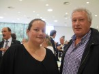 Rolf Döbeli von der Garage Döbeli mit Tochter Hanna: Schätzt die ESA als Hauptlieferantin.