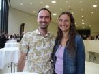 Peter Stadler von der HH Taxizentrale GmbH mit Freundin Martina Gwerder: Er schätzt das breite Sortiment der ESA.