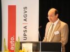 Rapportierte über die politischen Erfolge des Verbandes: AGVS-Vizepräsident Pierre Daniel Senn.