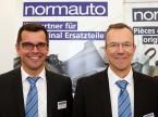 Almir Prusevic und Andreas Eberhard (Normauto): «Wir können unsere Kunden direkt empfangen und die Zusammenhänge erklären.»