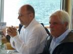 Enrico Camenisch (l.) und Angelo Vismara (ehemaliges ZV-Mitglied).