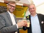 Sandro Piffaretti und Joël Souchon: «Die Feebacks sind sehr positiv und auch unsere Mitarbeitenden sind begeistert.»