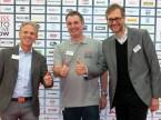 Gelungener Anlass mit über 5600 Besuchern: Zufriedene SAG-Crew mit Olivier Métraux, Sébastien Moix und Sandro Piffaretti.