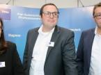 Andrea Lang, Markus Kreisig und Ralf Pichel (Texa): «Wir setzen den Schwerpunkt Diagnosegerät und schauen, ob das das neue Zugpferd werden kann.»